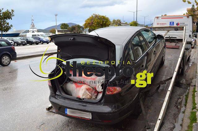 Δύο συλλήψεις από τη Δίωξη Ναρκωτικών Ηγουμενίτσας για τη μεταφορά 37,5 κιλών χασίς
