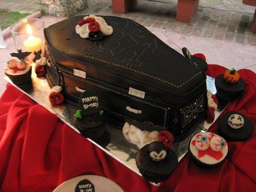 Easy Goth Cake