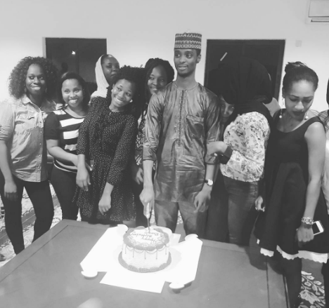 Kaduna Governor, Nasir El-Rufai's son Bashir celebrates his birthday
