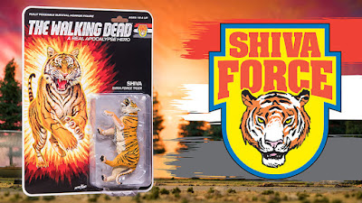 San Diego Comic-Con 2017 Exclusive The Walking Dead Shiva Force Action Figure Box Set by Skybound x McFarlane Toys x Jason Edmiston