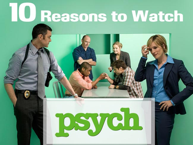 Know Your Show: Psych #AtoZChallenge