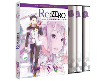 Re:ZERO episodios 1 a 13 - DVD