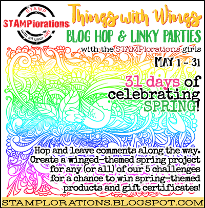 Stamplorations Things with Wings Blog Hop & Linky