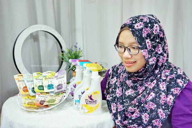 Afy Haniff D'menc Fabric Freshener dan D'menc Air Freshener