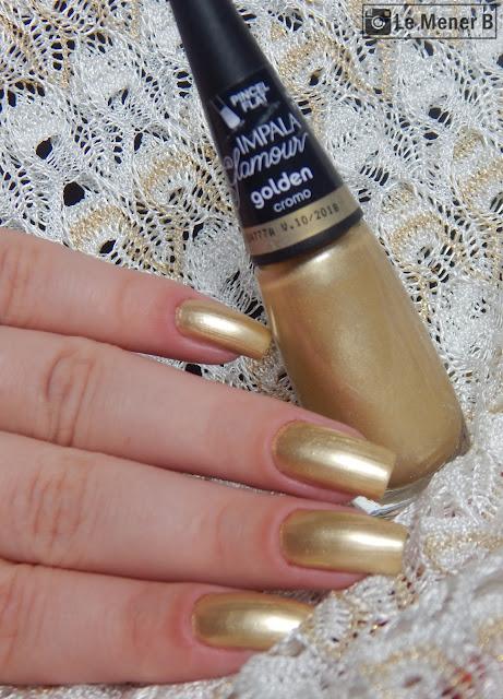 esmalte golden da impala
