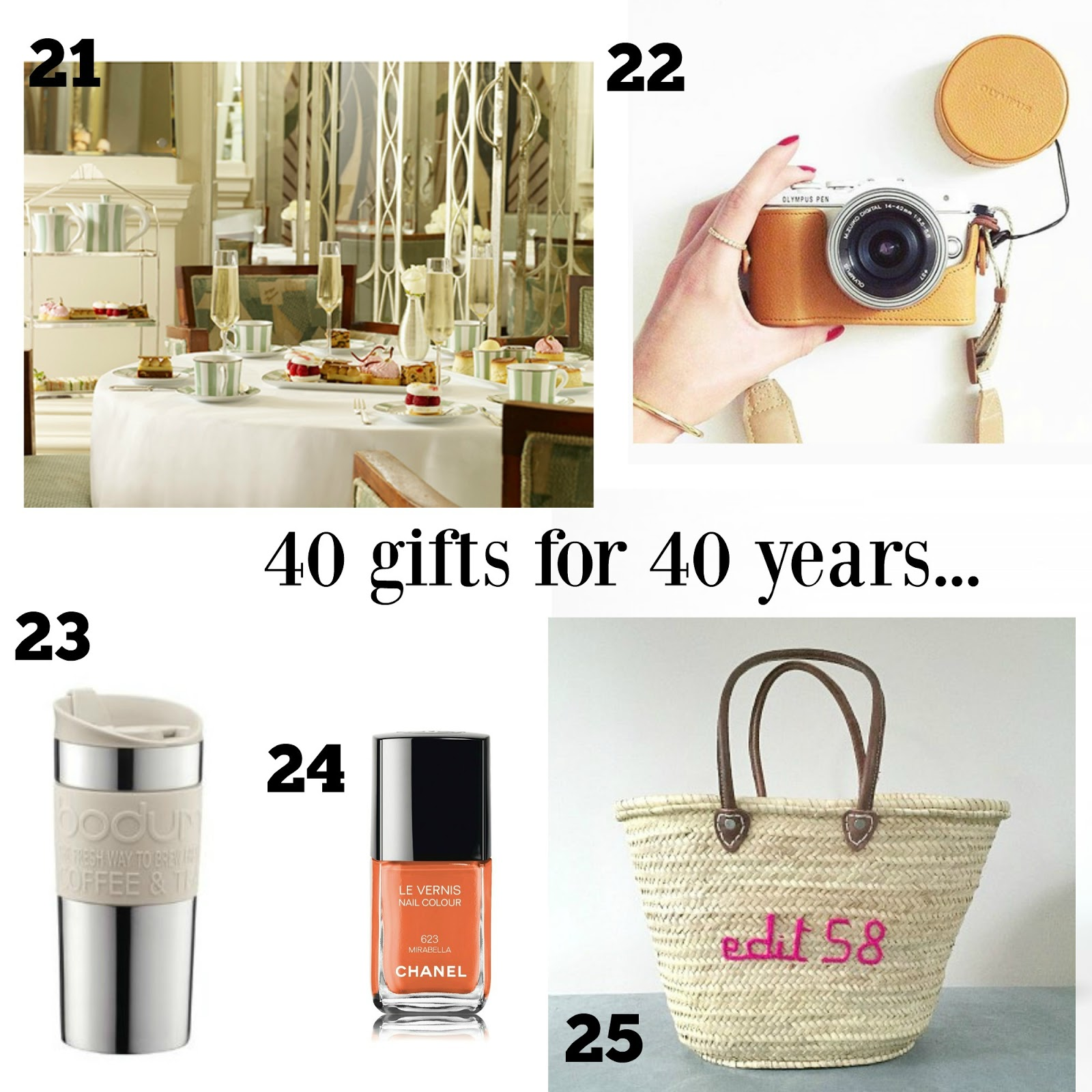 V. I. BUYS: This Is 40! The Birthday Wish List