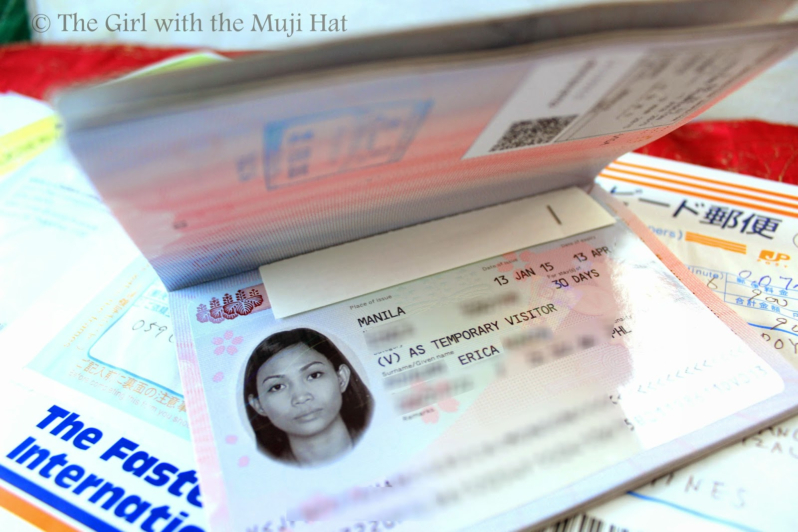 How i got my japan tourist visa in the philippines the girl with my japan tourist visa valid for 30 days stay spiritdancerdesigns Image collections