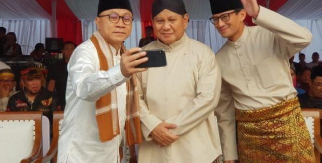 Tak Dibebani jadi Timses, Bupati dan Wakil Bupati Garut Ucapkan Terima Kasih ke Prabowo-Sandi