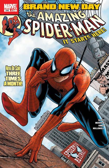 amazing spider man dan slott