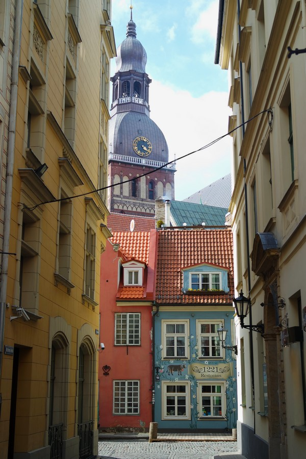 riga vieille ville old town cathédrale