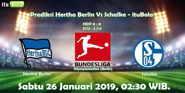 Prediksi Hertha Berlin Vs Schalke - ituBola