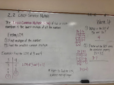 Mrs  Bushek's 6th Grade Math Class: Lesson 2 2 Notes