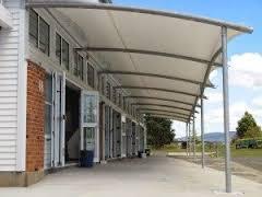 jasa pembuatan canopy kain, tenda membrane dan awniig gulung bogor