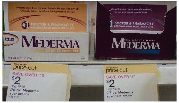 mederma samples