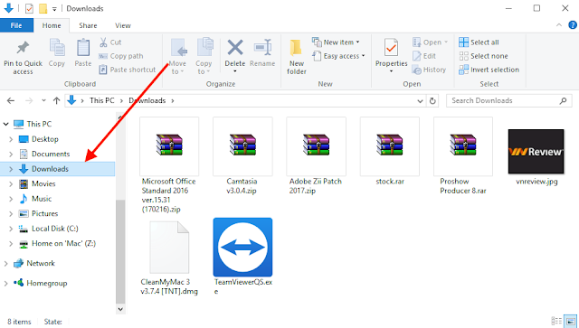 Thủ thuật tìm kiếm nhanh file dung lượng lớn trên Windows 10