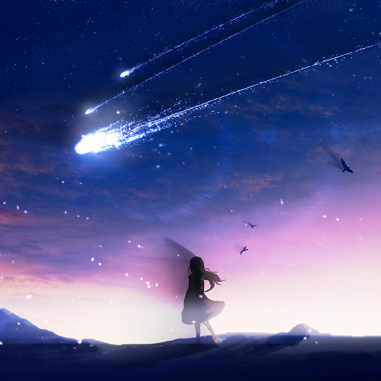 Among The Stars Wallpaper Engine