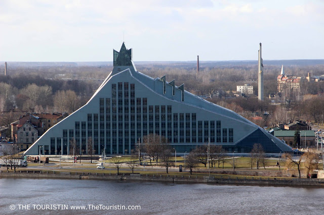 a National Library of Riga – The Castle of Light Latvia The Touristin