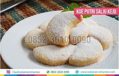 resep kue salju keju