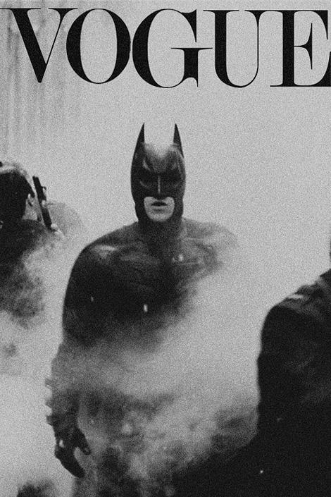 Couverture de Vogue Batman