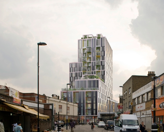 Dalston Eco Tower Planned Findlay Property