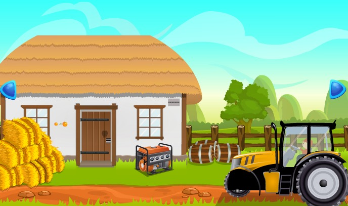 Play Village Tractor Escape