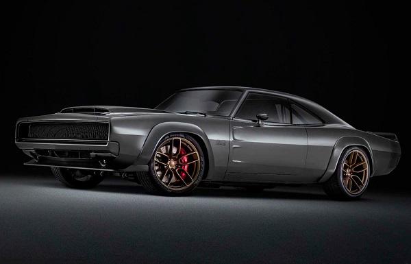 Dodge Super Charger Concept motor Hellephant Mopar