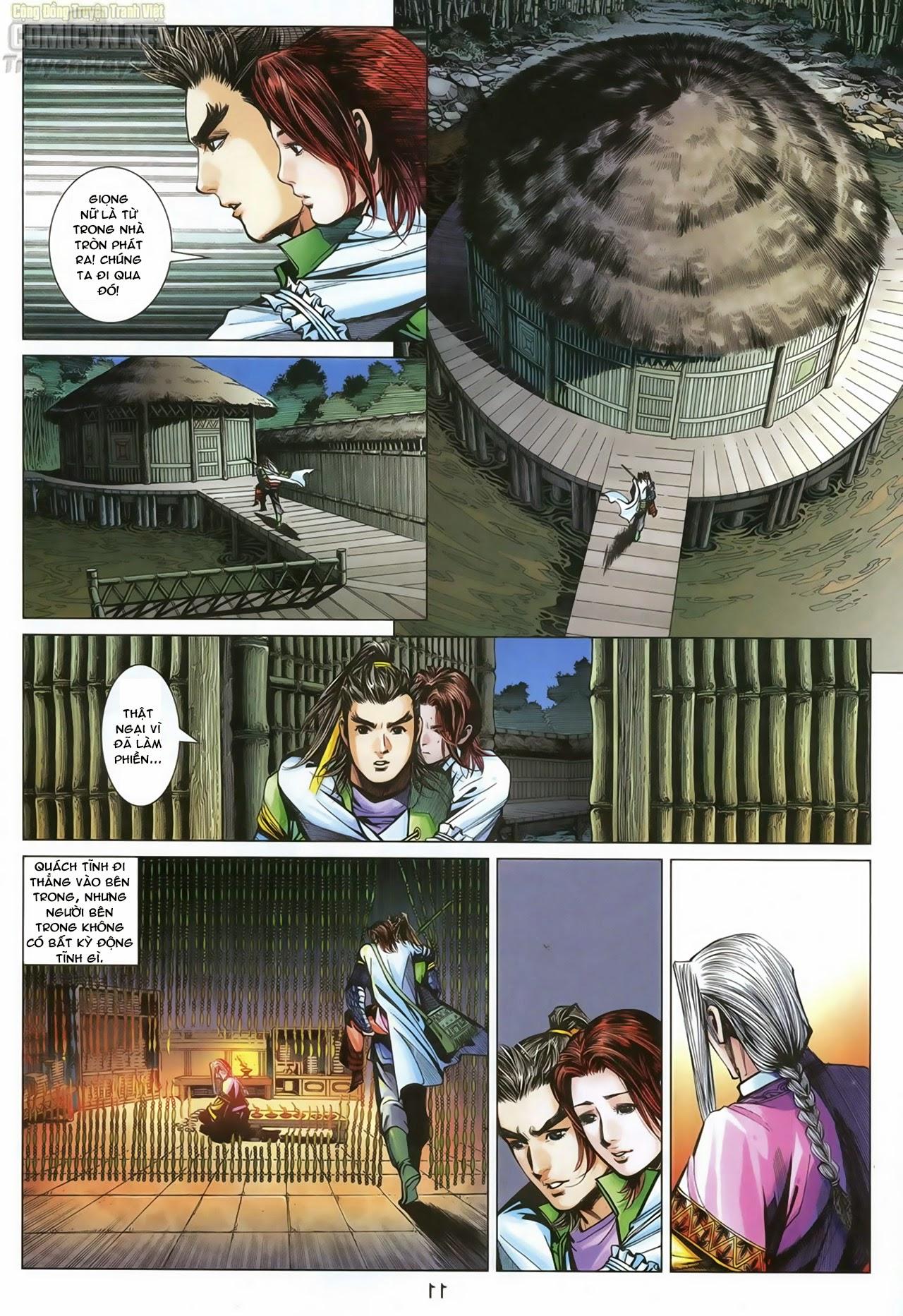Anh Hùng Xạ Điêu anh hùng xạ đêu chap 70: hắc chiểu ẩn nữ trang 12