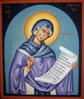 Οσία Κασσιανή η Υμνογράφος. (Το Τροπάριο της Κασσιανής). Σήμερα γιορτάζει η Εκκλησία την μνήμη της.