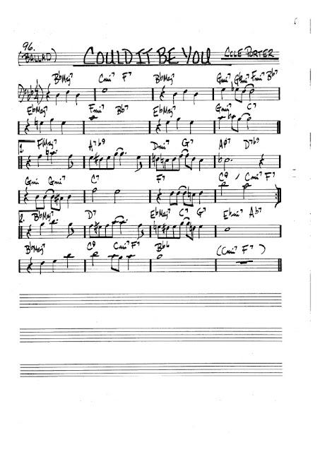 Partitura Violonchelo Cole Porter