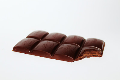 half eaten chocolate bar