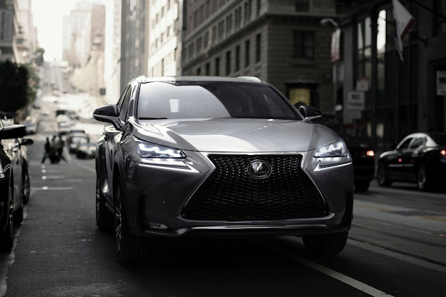 Front view of 2017 Lexus NX 200t F SPORT