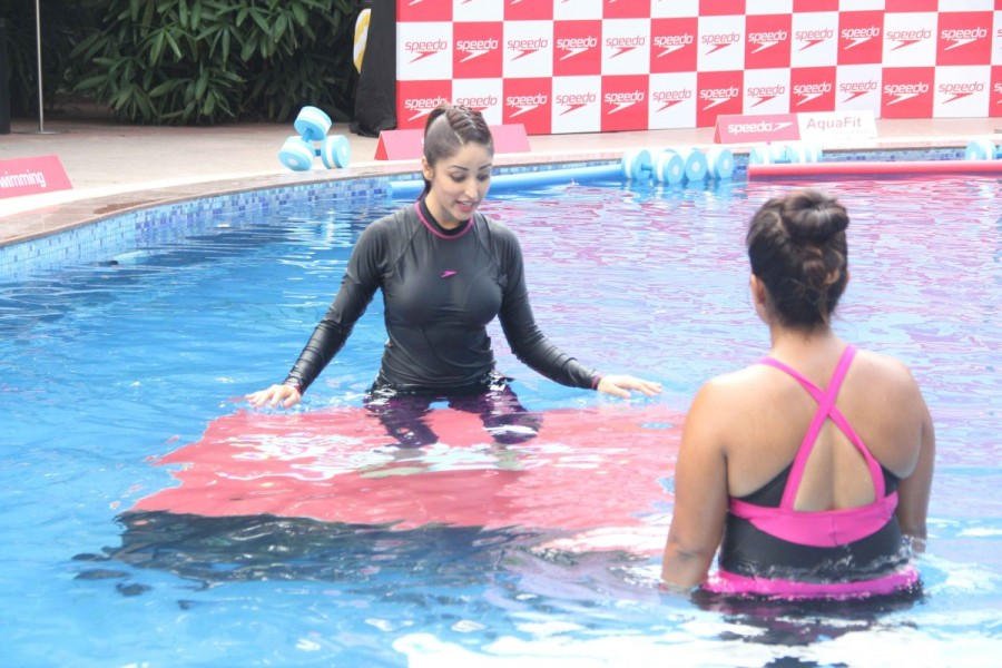 Yami Gautam Launches Speedo Aqua Fit In Mumbai