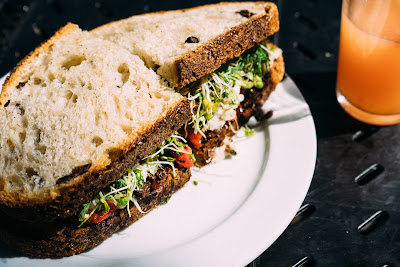 Free stock photos of food and high quality - Vegetarian Sandwich free image.