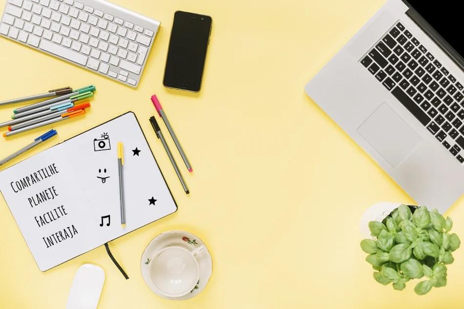 Interaja em outros blogs e compartilhe bons conteúdos que achar neles