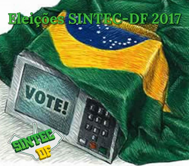 Eleições SINTEC-DF 2017 - Processo Eleitoral