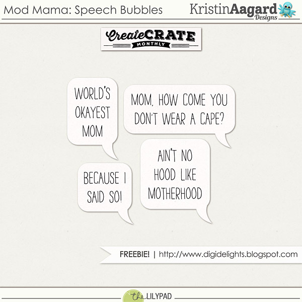 Mod Mama - Create Crate Monthly & Freebie!