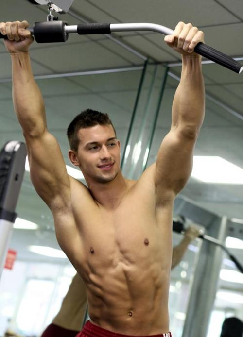 Gay gym work out site