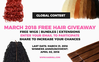 hair giveaway, free hair giveaway, free wigs,free bundles, free extensions