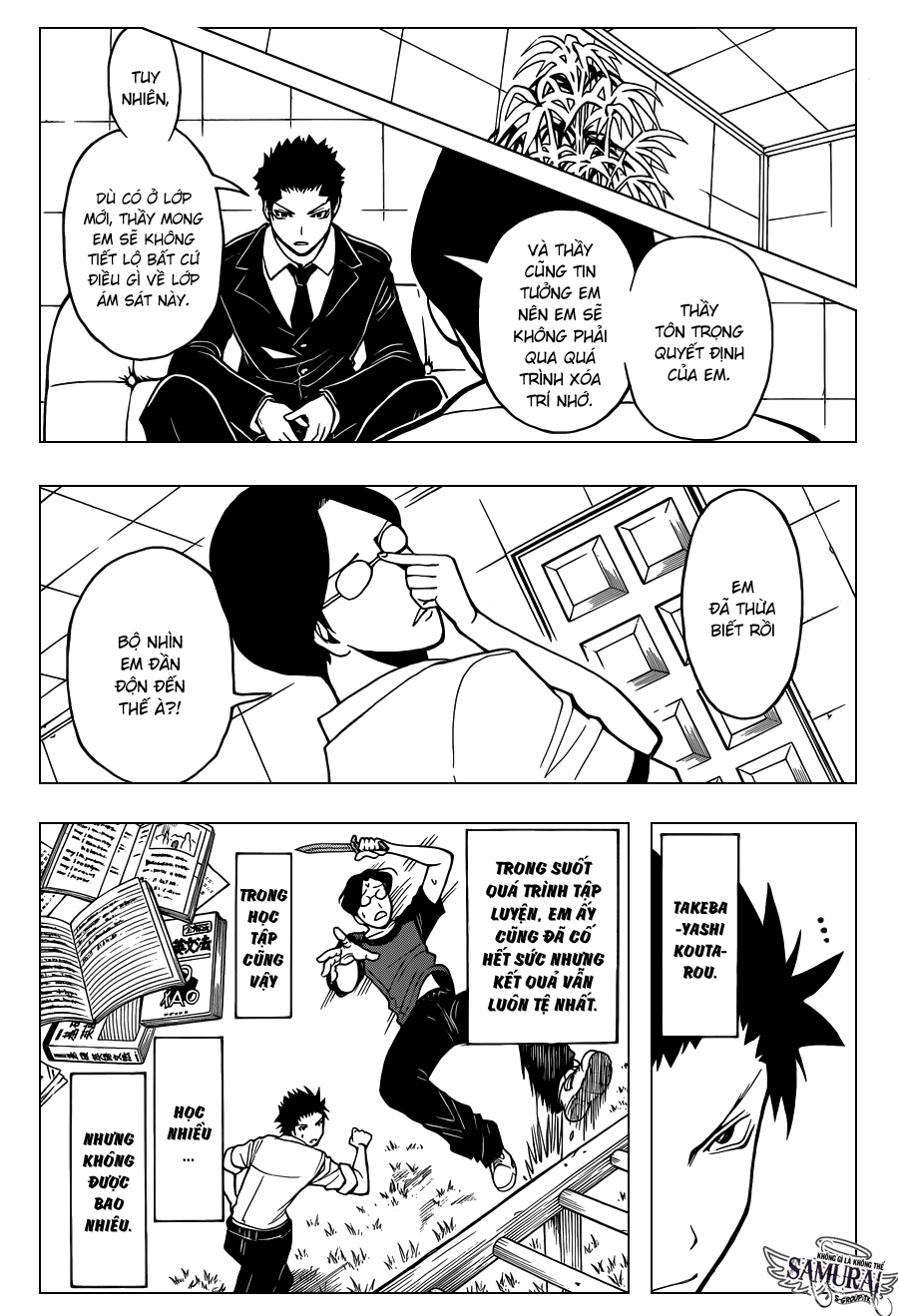 Ansatsu Kyoushitsu chap 77 trang 10