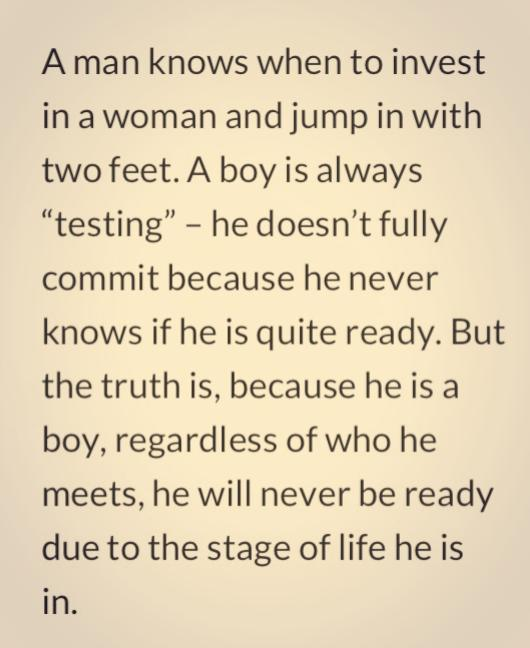 A Man Knows When To Invest In A Woman And Jump In With Two