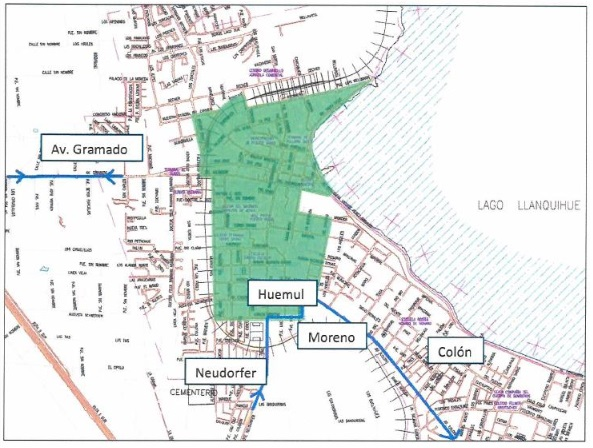 Prohíben circulación de vehículos de carga en el centro de Puerto Varas