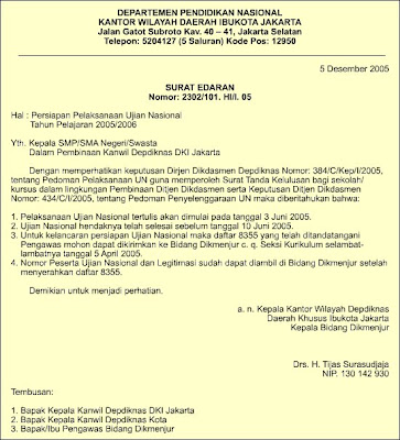 Contoh Kop Surat Resmi Dalam Bahasa Inggris Lamaran R
