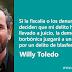 El juez procesa a Willy Toledo por cagarse en Dios y en la Virgen
