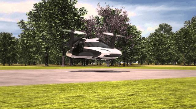 Mobil Masa Depan Bisa Terbang Terrafugia TF-X