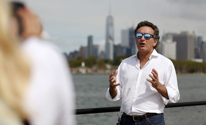 Alejandro Agag at the launch of the New York ePrix
