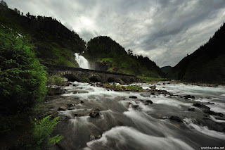 Latefoss, Norway