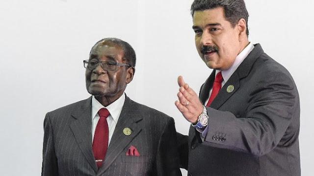Editorial De Investors.Com Habla Del Gran Parecido Entre Mugabe Y Maduro