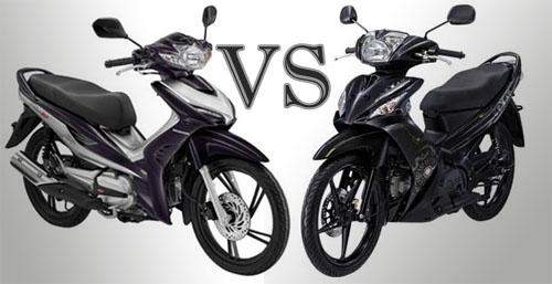 Yamaha Lexam VS Honda Revo AT