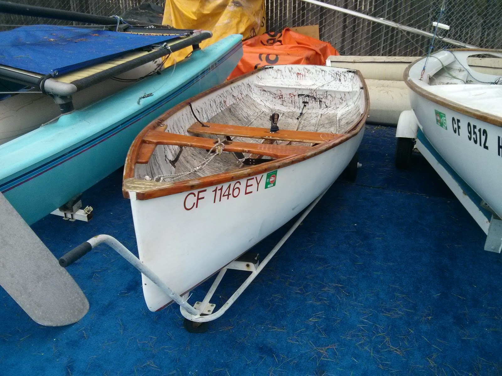 Sailing Adventures of David & Kathy: Lehman 12 sailing
