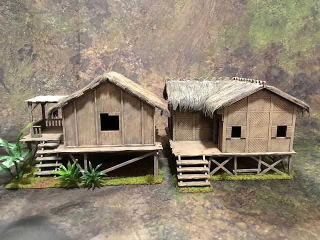 Sarissa Planked House vs. Warbases Kamalig Hut